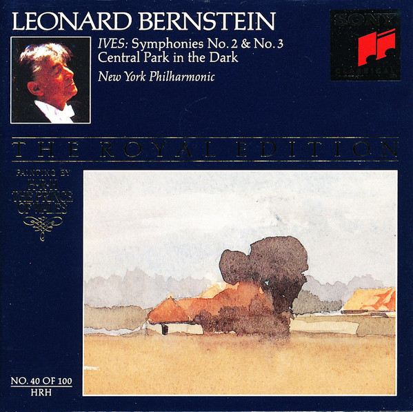 Ives, Leonard Bernstein, New York Philharmonic Symphonies No. 2 & No. 3, Central Park In The Dark CD