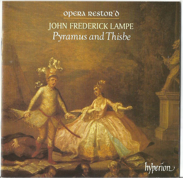 Lampe - Opera Restor'd, Peter Holman Pyramus And Thisbe Vinyl