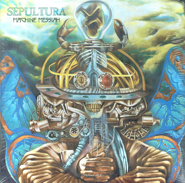 Sepultura Machine Messiah Vinyl