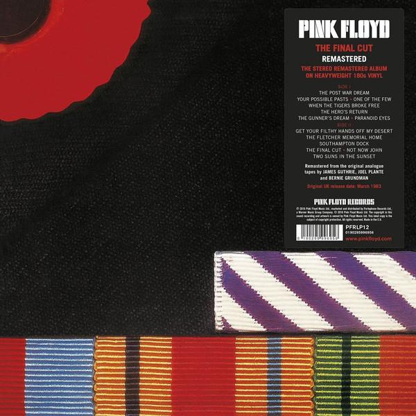 Pink Floyd The Final Cut Vinyl
