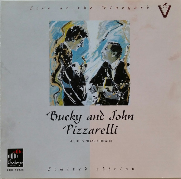 Pizzarelli, Bucky & John Live At The Vineyard