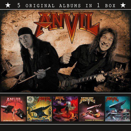 Anvil Anvil (5 Original Albums In 1 Box) CD