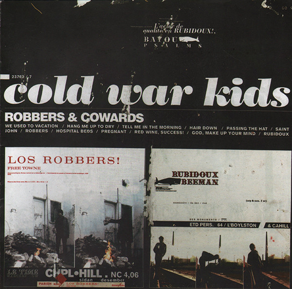 Cold War Kids Robbers & Cowards CD