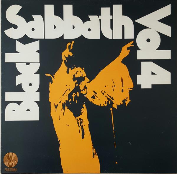Black Sabbath Black Sabbath Vol 4 (First Press) Vinyl