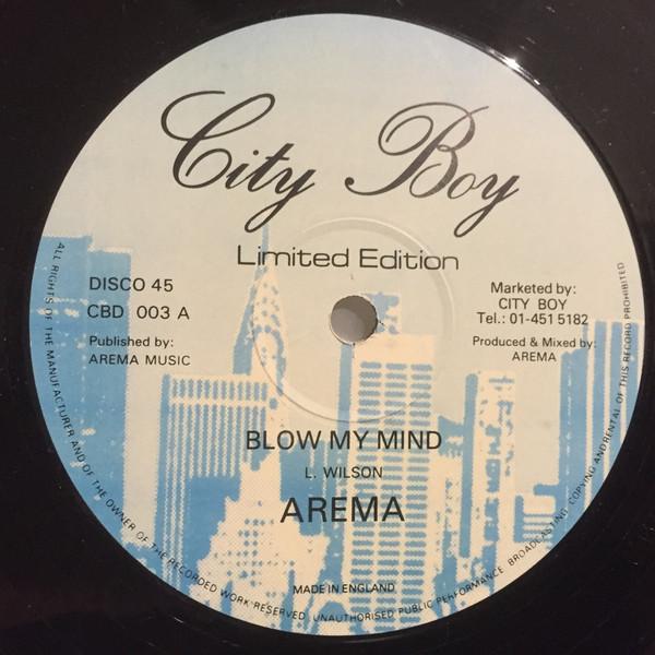 Arema Blow My Mind Vinyl