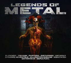 Various Legends Of Metal CD