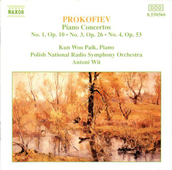 Prokofiev - Kun Woo Paik, Antoni Wit Piano Concertos Nos. 1, 2 and 3 Vinyl