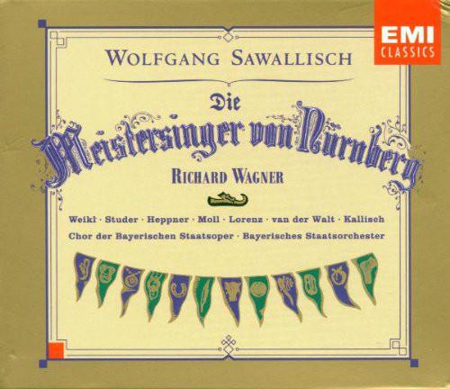 Wagner - Wolfgang Sawallisch Die Meistersinger Von Nürnberg CD