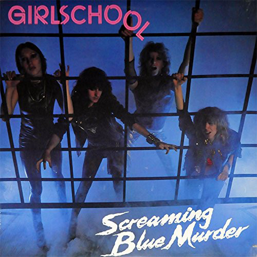 Girlschool Screaming Blue Murder Vinyl