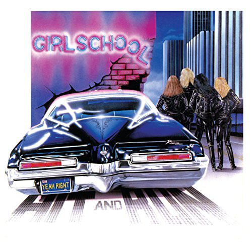 Girlschool Hit And Run Vinyl