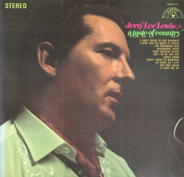 Jerry Lee Lewis A Taste Of Country Vinyl