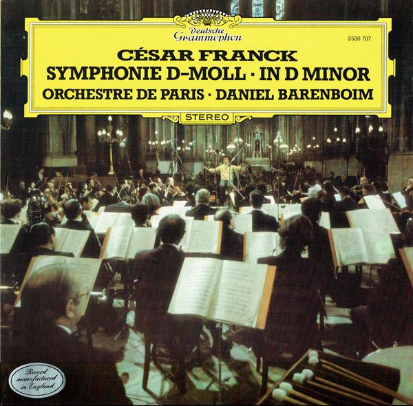 Franck - Daniel Barenboim Symphonie D-Moll, In D minor Vinyl
