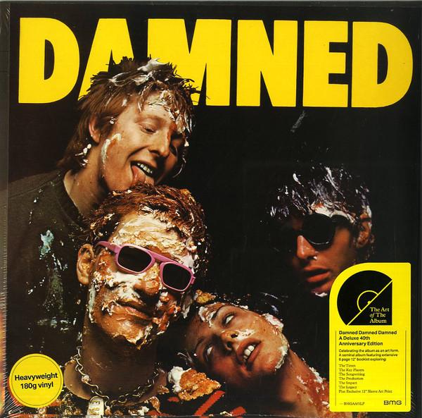 The Damned Damned Damned Damned Vinyl