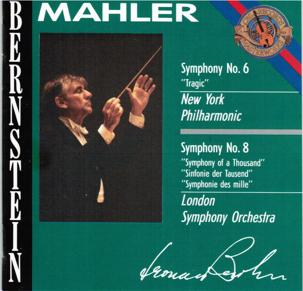 Mahler - Leonard Bernstein Symphonies Nos. 6 & 8 Vinyl