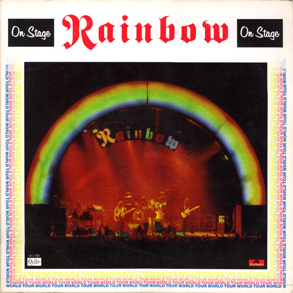 Rainbow On Stage Vinyl