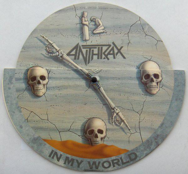 Anthrax In My World Vinyl