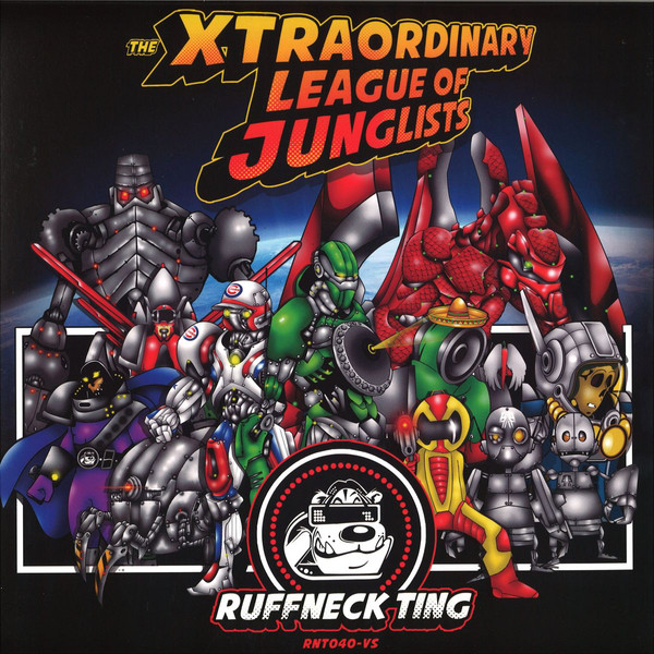 Various The Xtraordinary League Of Junglists