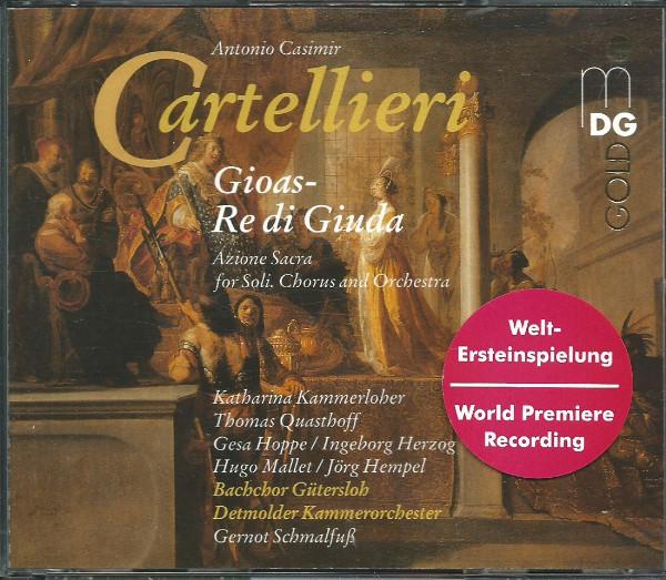 Cartellieri - Bachchor Gütersloh, Detmolder Kammerorchester, Gernot Schmalfuß Gioas - Re Di Giuda Vinyl