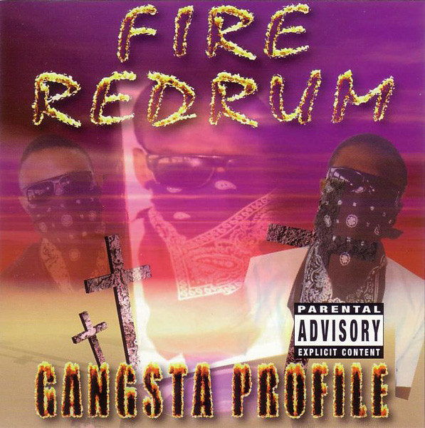 Gangsta Profile Fire Redrum Vinyl