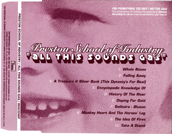 Preston School Of Industry All This Sounds Gas CD