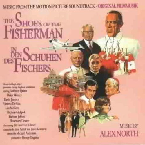 Alex North The Shoes Of The Fisherman Vinyl