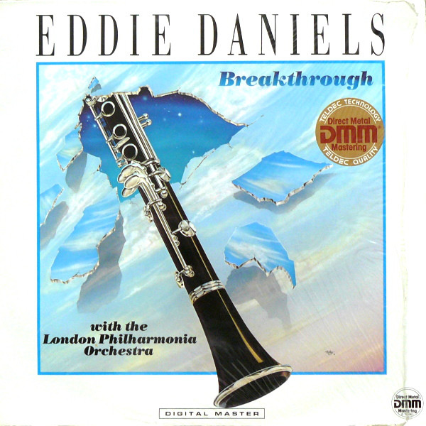 Eddie Daniels With The London Philharmonia Orchestra Breakthrough Vinyl