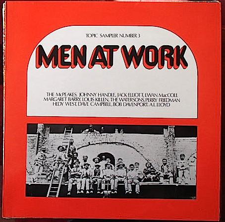 Various Men At Work - Topic Sampler Of Folk Songs Number 3 Vinyl