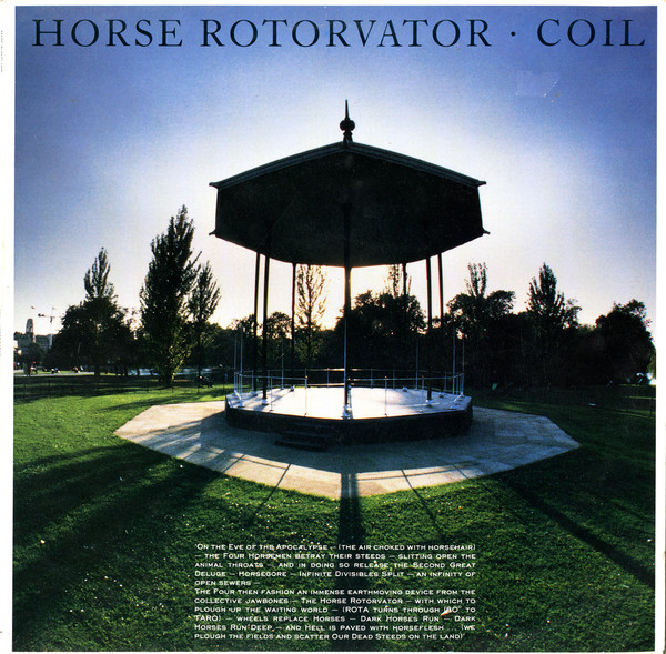 Coil Horse Rotorvator Vinyl