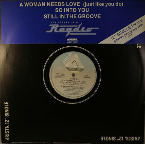 Raydio A Woman Needs Love (Just Like You Do)