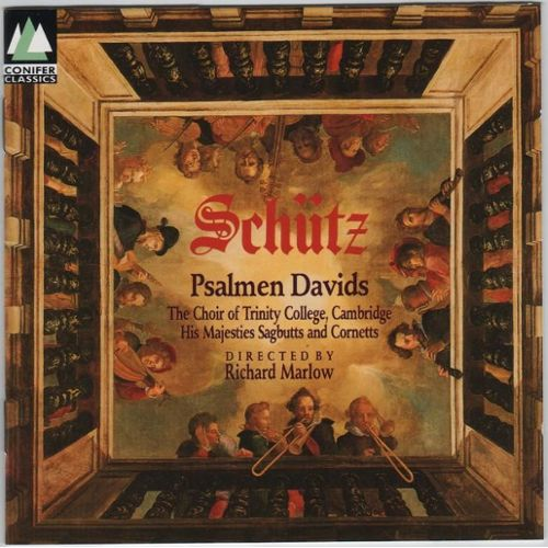 Schutz - Richard Marlow Psalmen Davids Vinyl