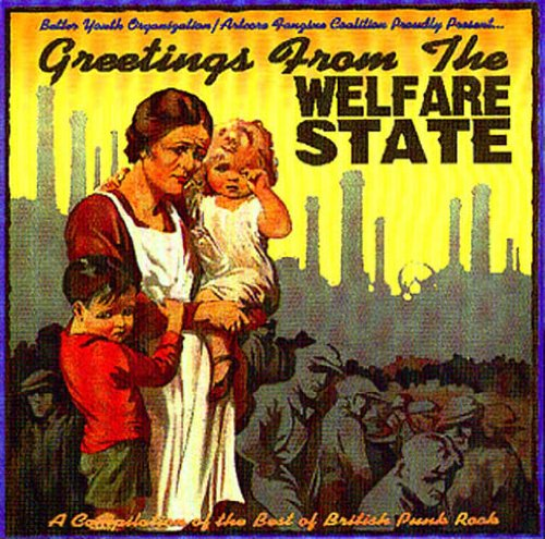 Greetings From The Welfare State A Compilation Of The Best Of British Punk Rock