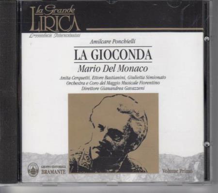 Ponchielli - Cerquetti, Bastianini, Simionato, Gianandrea Gavazzeni La Gioconda Vinyl