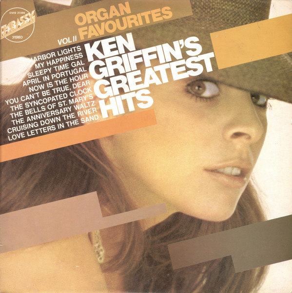 Ken Griffin Greatest Hits // Organ Favourites Vol 2 Vinyl