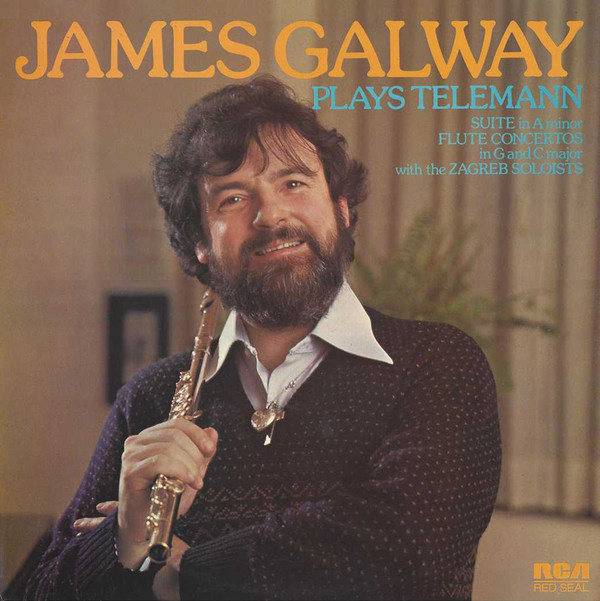 James Galway Plays Telemann Vinyl