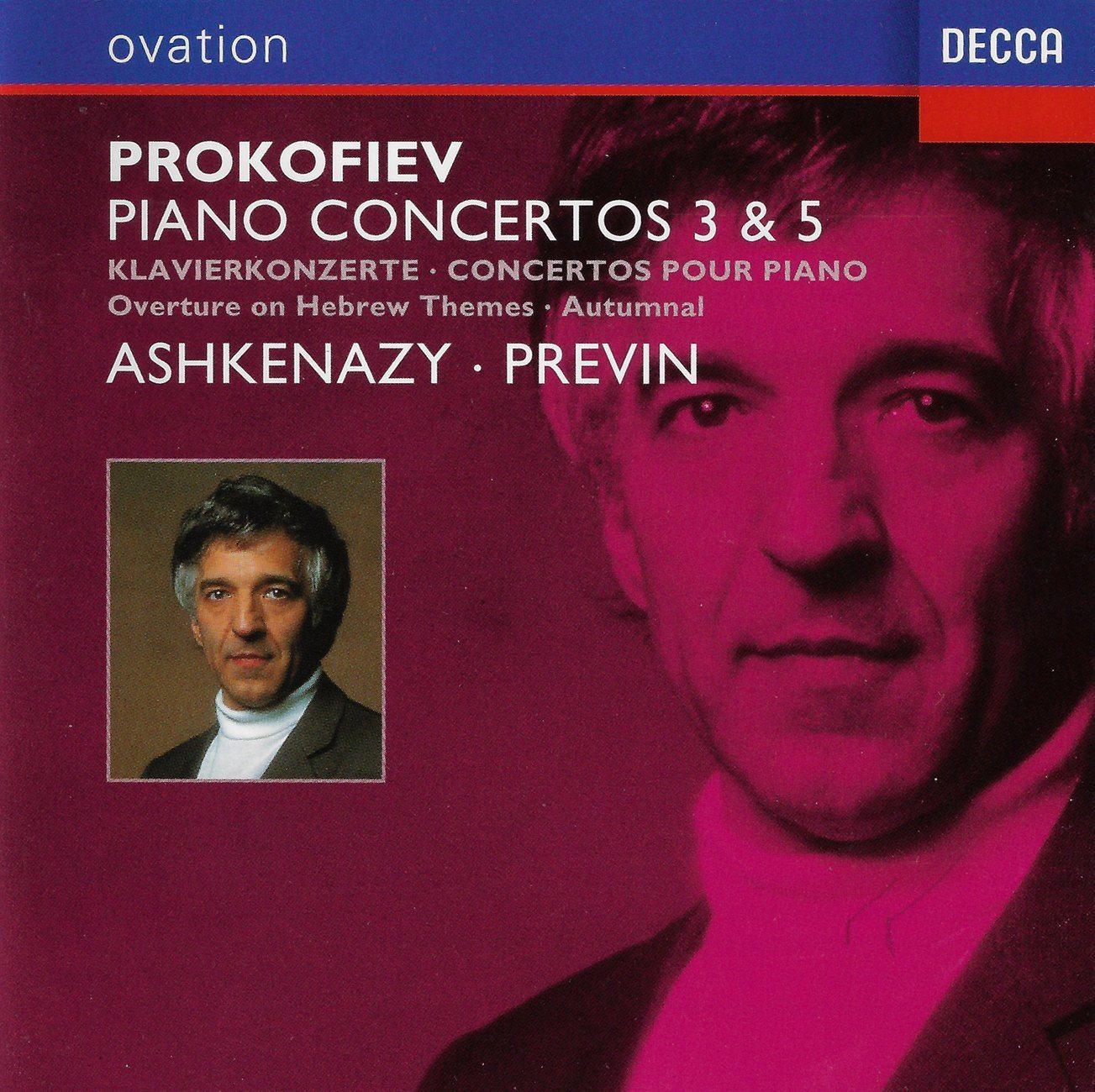 Prokofiev - Ashkenazy, Previn Piano Concertos 3 & 5 Vinyl