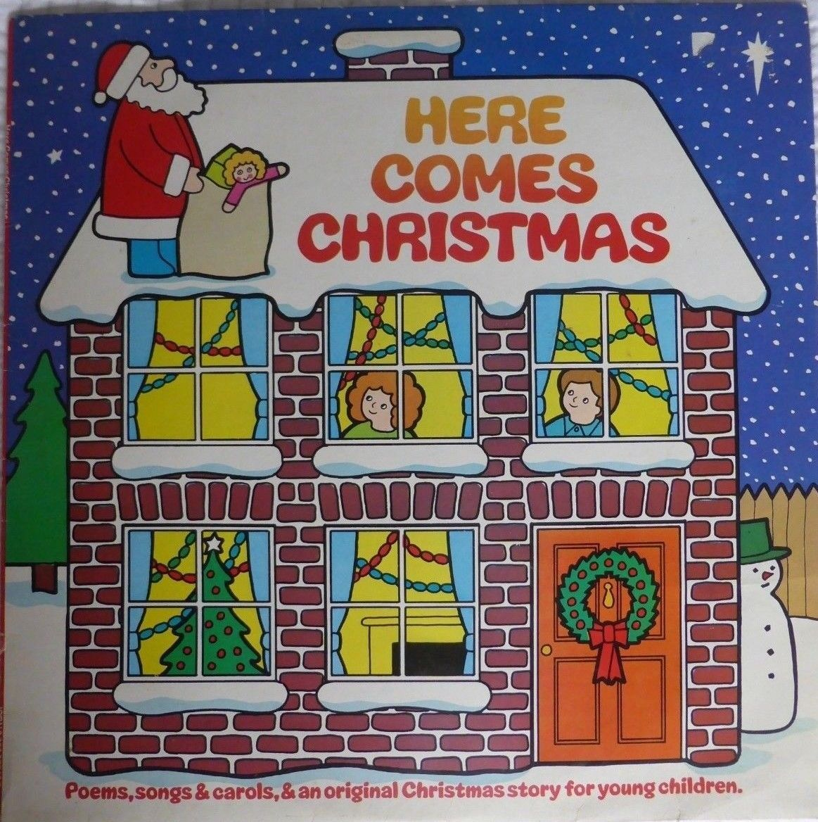 Various Here Comes Christmas Vinyl