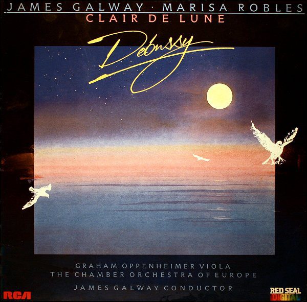 James Galway Clair De Lune Vinyl