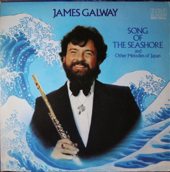 James Galway Song Of The Seashore And Other Japanses Melodies Vinyl