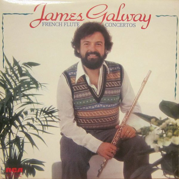 James Galway French Flute Concertos Vinyl