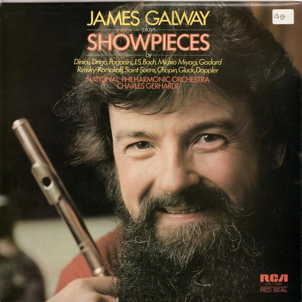 James Galway Showpieces Vinyl