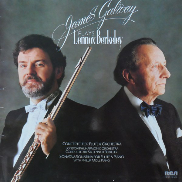James Galway Plays Lennox Berkeley Vinyl