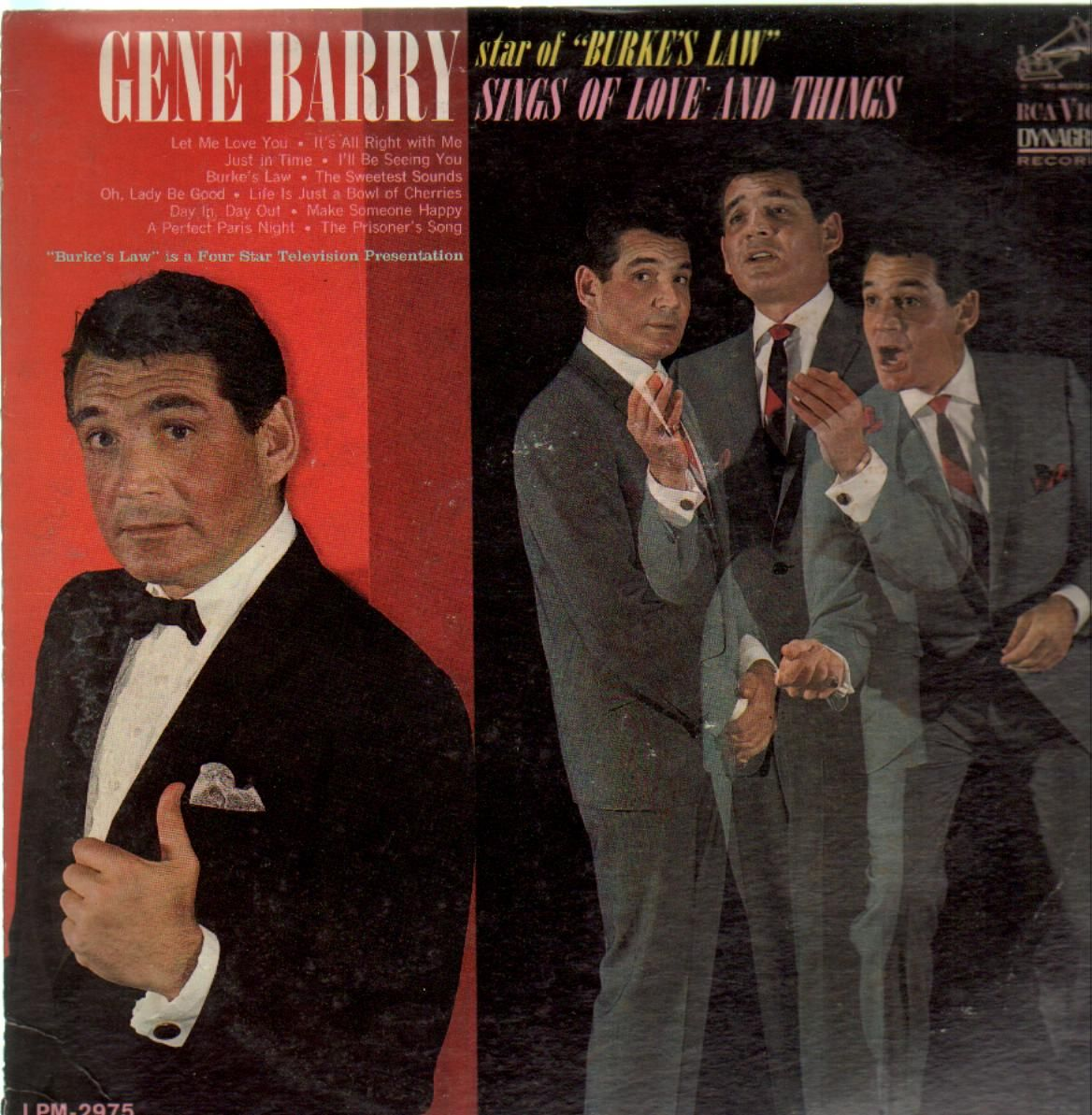 Barry, Gene Sings Of Love And Things  Vinyl