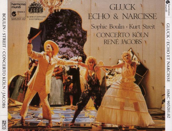 Gluck - Concerto Köln, René Jacobs, Sophie Boulin, Kurt Streit Echo Et Narcisse