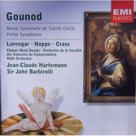 Gounod - Lorengar, Hoppe, Crass, Jean-Claude Hartemann, John Barbirolli St. Cecilia Mass etc.