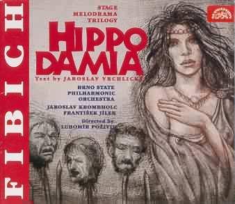 Fibich - Jaroslav Krombholc, Frantisek Jilek, Lubomir Pozivil Hippodamia Vinyl