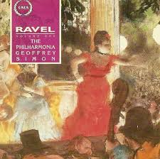 Ravel - Geoffrey Simon The Philharmonia Vinyl