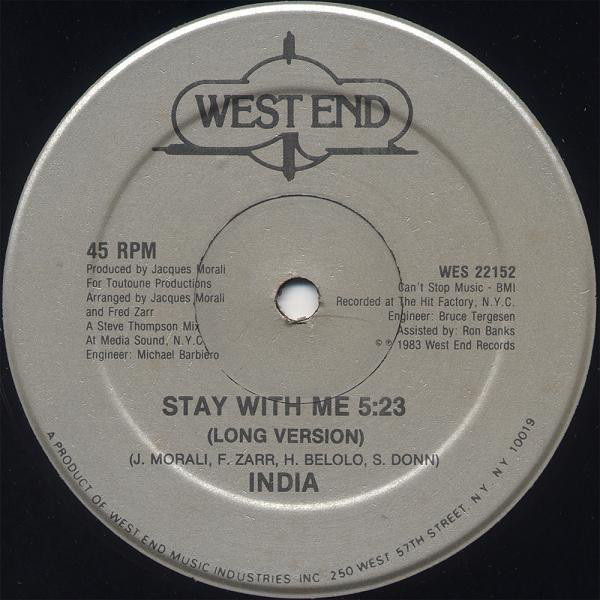 India Stay With Me