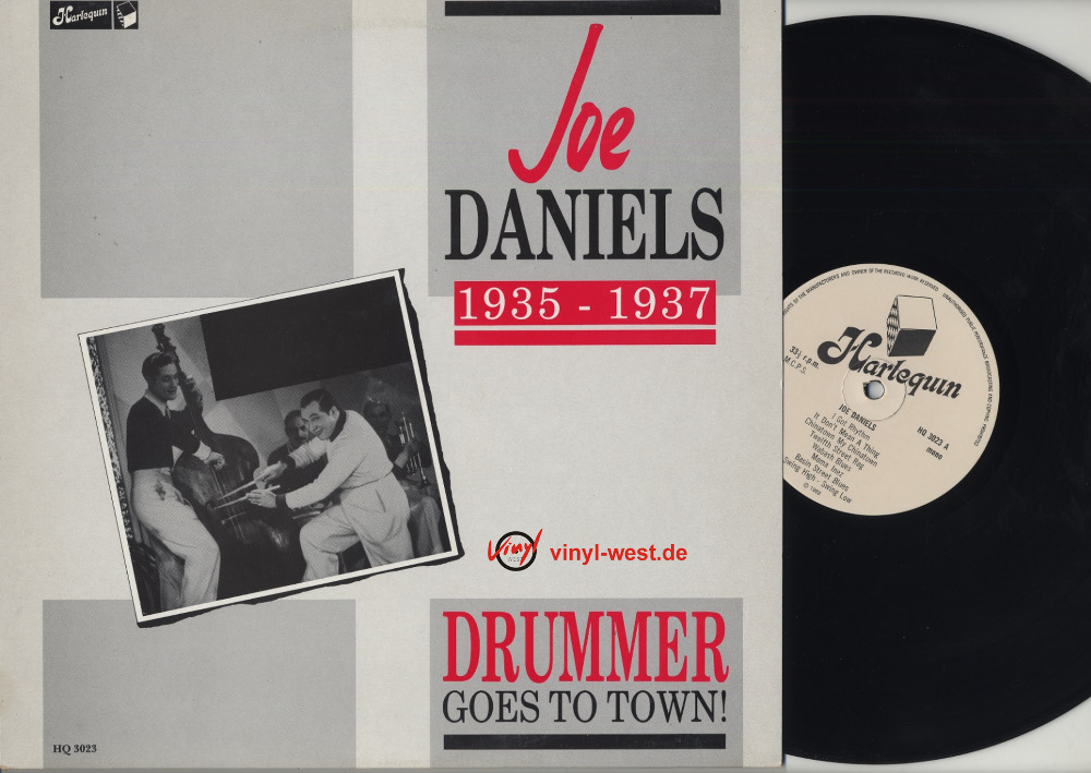 Daniels, Joe Drummer Goes To Town! Vinyl