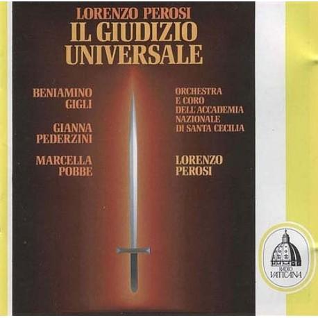 Perosi, Beniamino Gigli, Gianna Pederzini, Marcella Pobbe Il Giudizio Universale Vinyl