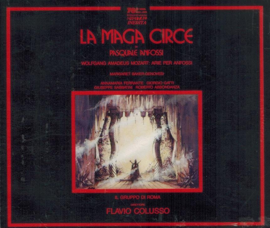 Anfossi - Baker-Genovesi, Ferrante, Gatti, Sabbatini, Abbondanza, Flavio Colusso La Maga Circe Vinyl